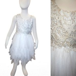 Lovely Girls Tulle & Lace Dress